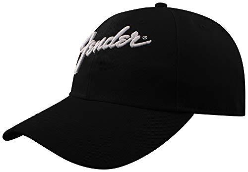 Fender Baseballcap Logo schwarz