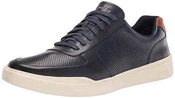 Cole Haan Men s Grand Crosscourt Modern PERF Sneaker Peacoat/British TAN 9.5