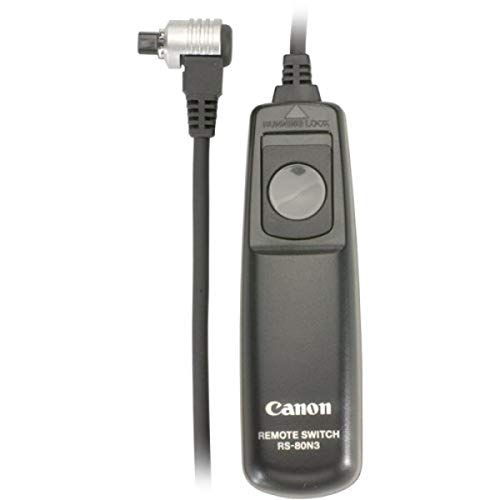 Canon RS-80N3 Remote Switch for EOS-1V/1VHS, EOS-3, EOS-D2000, D30,...