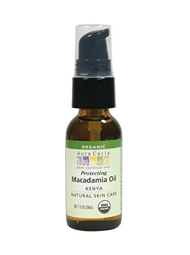 Macadamia Oil 1 fl oz (30 ml) Liquid by AURA CACIA ORGANICS