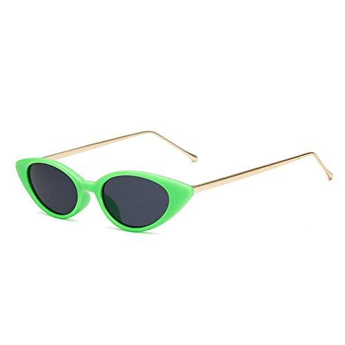 DIF vrouwen smalle zonnebril Retro kat oog zonnebril Retro Lady bril UV400 bril