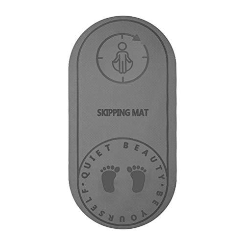 Mat Saltar la Cuerda de Cubierta de Salto del hogar Saltarse Buffer Pad silenciosa Yoga Mat Antideslizante de Deportes Entrenamiento de la Aptitud del cojín