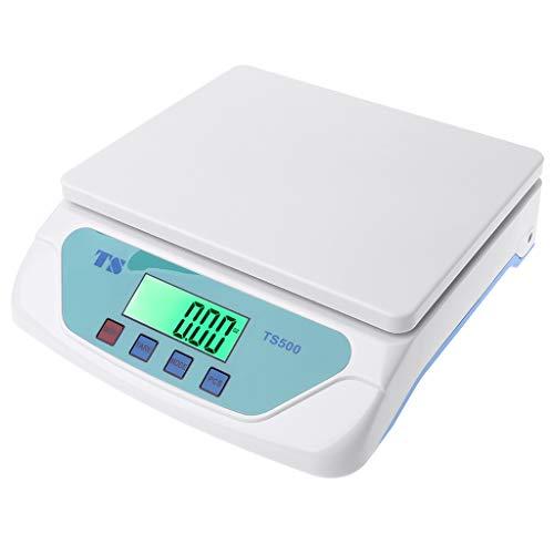 SUCHUANGUANG Balanzas electrónicas 30 kg, balanza de Cocina, balanza de gramo LCD para el hogar, Oficina, almacén, Laboratorio, Industria, balanza electrónica