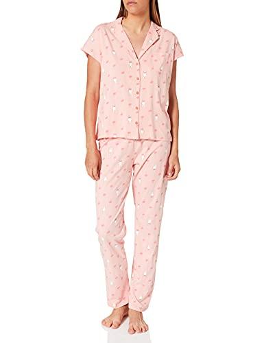 Women' Secret Pijama Camisero Miffy algodón, Rosa, L para Mujer