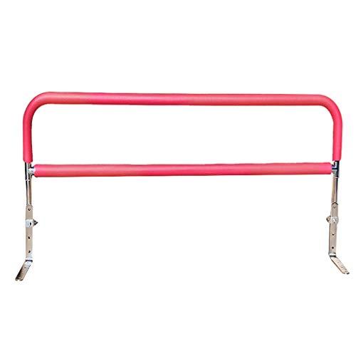 YULAN Barrières Be Lit Nuit Railing AVC Stroke Personnes âgées Get Up Balustrades Pliant et retournement du Cadre Femmes Enceintes Get Up Helper (Color : Red)