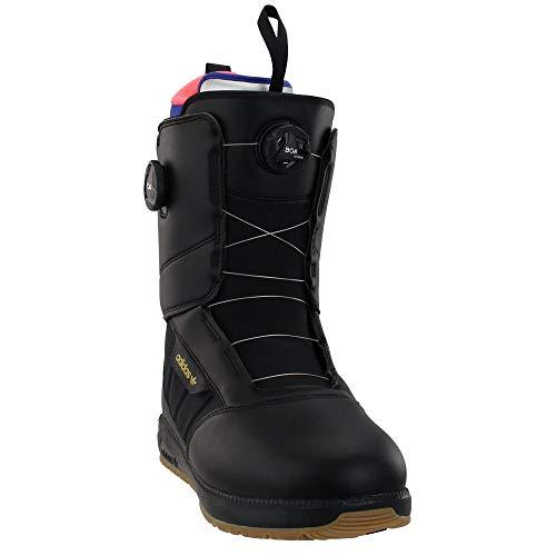 Adidas Mens Response 3 MC ADV Snowboard Boots Black/White/Gold 9.5