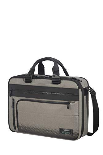 Samsonite Cityvibe 2.0 Three-Way Expandable Briefcase 41 cm, Ash Grey (Grey) - 115516/2440