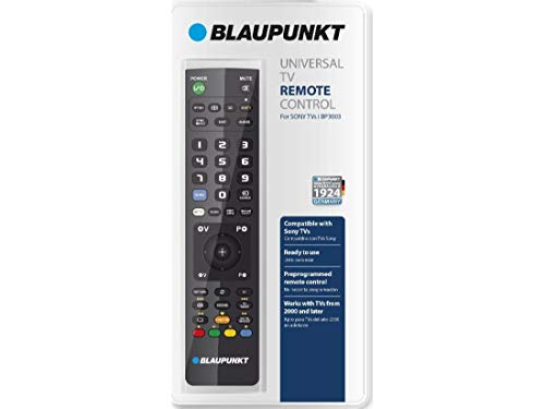 BLAUPUNKT - Telecomando per Smart TV Sony| Preprogrammato pronto all'uso | Telecomando universale TV Sony | Telecomando compatibile con tutte le TV Sony