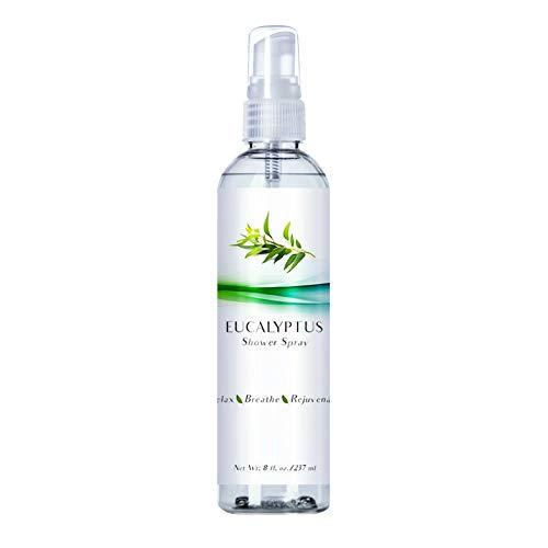 Luxury Eucalyptus Oil Steam Shower Spray, Best Mist Essential Oil for Spa Room, Showers and Baths (Eucalyptus, 8oz)