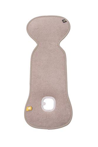 AeroMoov - Baby Sitzauflage Air Layer - Einlage Für Autositz oder Kinderwagen - Gruppe 0 - Antischwitz Sommerbezug - Bio-Baumwolle - Sand