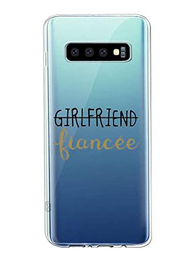 Oihxse Fina Silicona Antigolpes Protectora Funda Compatible con Samsung Galaxy J5 Prime Hermoso Cristal Transparente Slim TPU Antigolpes Cute Texto en Blanco y Negro Adecuado para Niños y Niñas