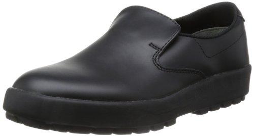 [ミドリ安全] 作業靴 耐滑 軽量 スリッポン ハイグリップ H400 N メンズ ブラック 30.0(30cm)