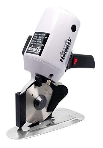 "Hercules HRC-100 Octagonal Knife Cloth Cutting Machine – 4-Inch Round Knife Fabric Cutting Machine (4"" Fabric Cutting Machine)"