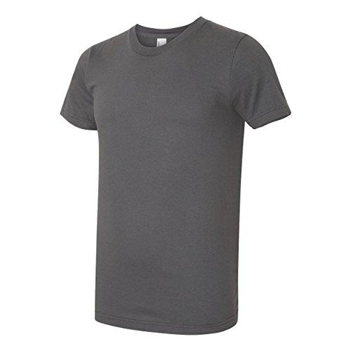 American Apparel Herren Jersey-T-Shirt (S) (Asphalt)
