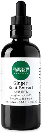 Greenbush Ginger Root 4 oz Liquid Extract 240 Doses Digestive System Support product image