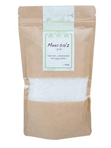 direct&friendly grobes Meersalz perfekt geeignet für die Salzmühle (500 gr)