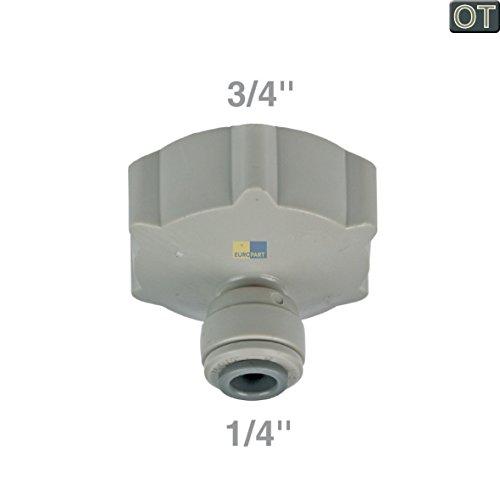 LG Electronics 4932JA3018A ORIGINAL Wasseranschluss Anschlussstück Trinkwasseranschluss Schlauchverbinder Anschluss Innengewinde 3/4