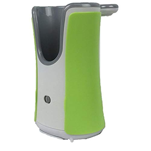Lysol No-Touch Automatic White Hand Soap Dispenser, with Free Decorative Green Cover
