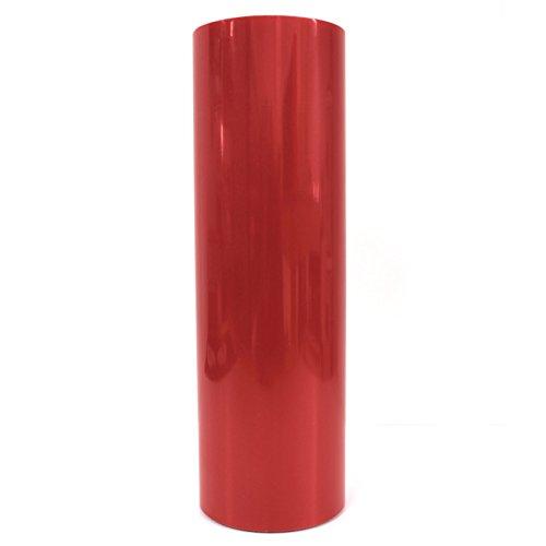 KLS Scheinwerfer Folie (30x100cm) von Finest-Folia Tönungsfolien Tint Rückleuchten Nebelscheinwerfer (KLS76 Rot Glänzend)