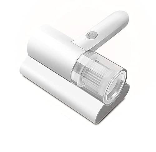 La Aspiradora De La Cama, La Aspiradora del Colchón con La Lámpara UV-C Y El Filtro HEPA, Pueden Eliminar El 99.9% De Los Ácaros,Blanco