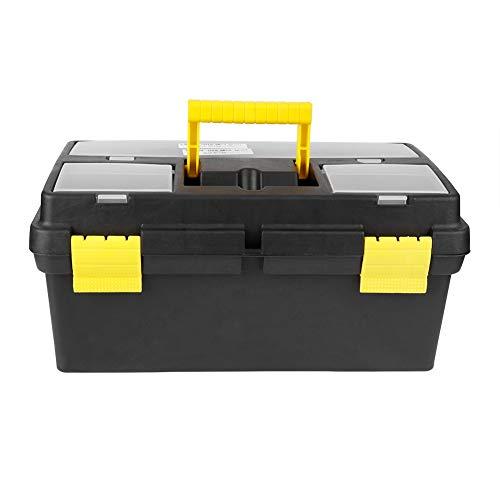 Greensen Werkzeugkasten Kunststoff Werkzeugkoffer Werkzeugkiste Abschließbare Werkzeugbox...