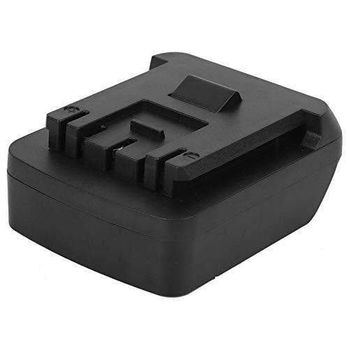 Walfront Adaptador de Herramienta eléctrica de batería, Adaptador de batería para DEWALT 20V Li-Ion Battery Convert para Bosch 18V con función de Carga