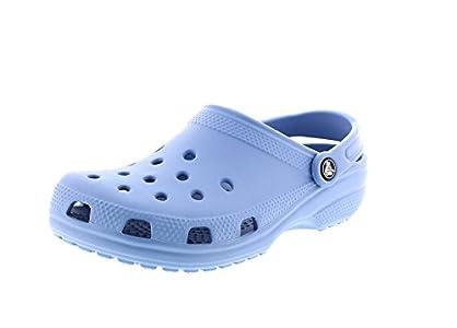 Crocs Classic Clog, Zuecos Unisex Adulto, Azul (Chambray Blue 44O), 38/39 EU
