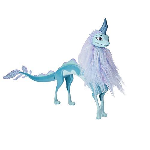 Disney F2006 Raya und der letzte Drache Sisu als Drache, Drachenpuppe mit Haaren, Spielzeug für Mädchen und Jungen ab 3 Jahren