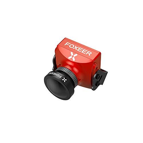 DishyKooker Foxeer Cat Super Starlight FPV Camera 0,0001lux Bassa latenza 16: 9/4: 3 Pal / NTSC commutabile Rosso Radiocomandati e telecomandati Veicoli Velivoli Droni