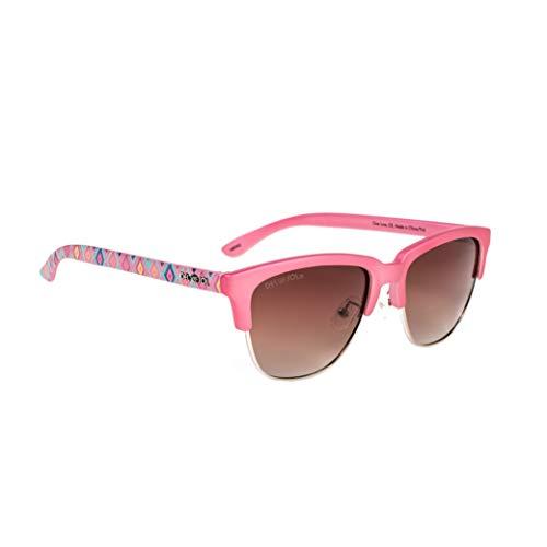 Del Sol Solize - Gafas cambian de color para mujer - One Love - Cambia de color de marfil a rosa Lente Pro polarizada, 100% protección UVA/UVB
