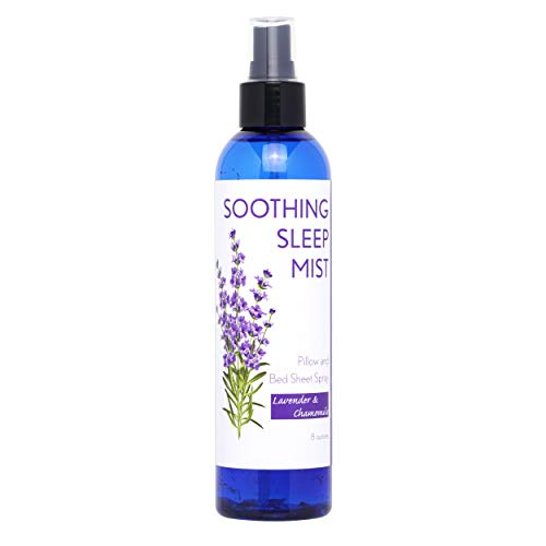 Pillow Spray and Linen Spray. Sleep Mist For Night Time Insomnia and Restful Sleep. Lavender Scented Options in 8 Ounce Bottles. 2 Lavender Pillow Sachets Included.