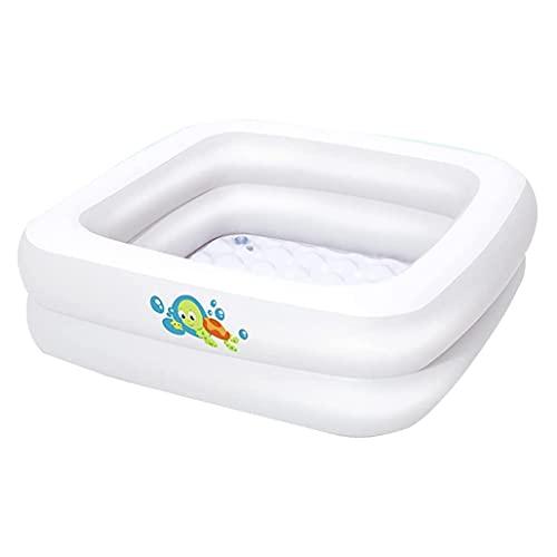 STYB Bañera Plegable Portátil De Plástico para Adultos Tina Plasticocon Rodillos Masaje Y Cubierta con Aislamiento Térmico Jacuzzi Móvil Ideal Pequeños Baños