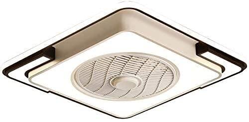 Modernos  Los ventiladores de techo de 58 cm con luces se silientan a los ventiladores de techo silenciosos con las luces para el temporizador de 3 velocidades de la velocidad del dormitorio con cont