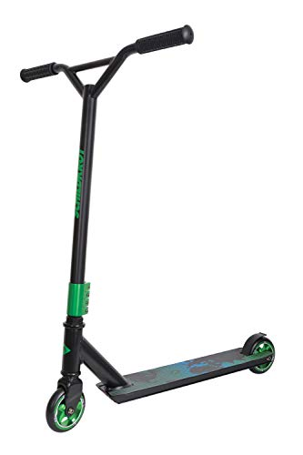 Schildkröt Stunt Scooter Untwist, Design: Ocean, wertiger Stunt Scooter mit Alu-Felge, 100 mm PU Räder, für tolle Tricks und Stunts, 510462