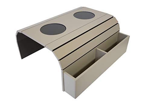 Meistar Global Armtablett für Sofa Halterung für Fernbedienung und Mobiltelefon, Armlehne, Organizer, Armlehne, Tisch mit Taschen (Fendy)