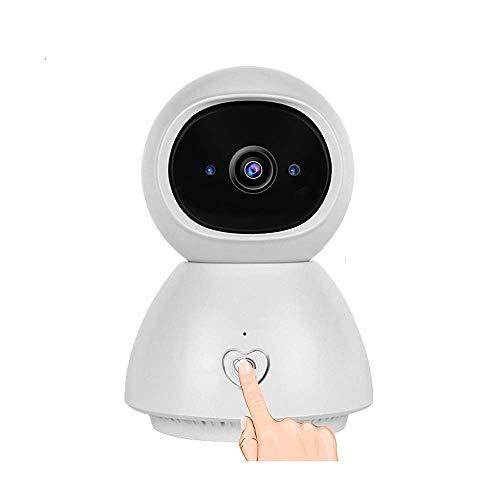 Cámara de seguridad HD WiFi, cámara de red inalámbrica, rotación de 355 ° / 45 °, monitor de hogar y bebé, con detección de movimiento, audio bidireccional, visión nocturna, alarma remota y aplicación