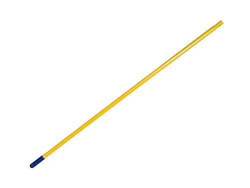 Apex handvat voor waterschuiver Maxi bodem duster en mop tang, geel, 140 cm