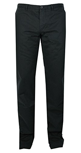 BOSS Green Herren Chino Hose | C-Crigan (Regular Fit) schwarz 100% Cotton (56)
