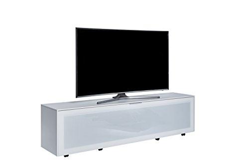 Jahnke TV Möbel, Holzdekor, Weiß, 40 x 180 x 45 cm