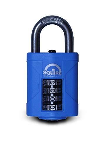 Squire CP40S - 40 mm de acero inoxidable combinación del candado