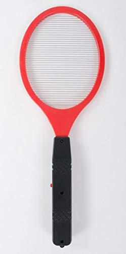 Preisvergleich Produktbild BURI Elektrische Fliegenklatsche Insektenvernichter Mückentöter Tennisschläger,  Farbe:rot