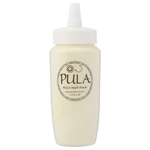 プーラ 頭皮パック パワードパック 200g 【10種類のハーブ&フルボ酸】 ヘッドスパ専門店 PULA 100%自然由来