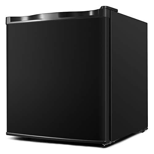 ADT Mini Freezer 1.1 Cubic Feet Small Freezer (Black)