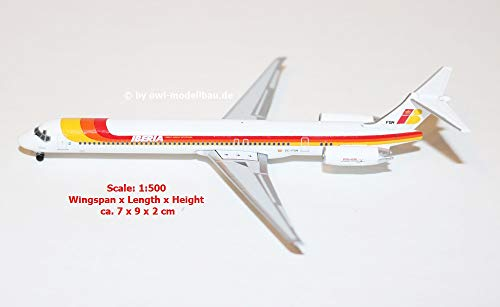 Herpa 531429 MD-88 Iberia, Color