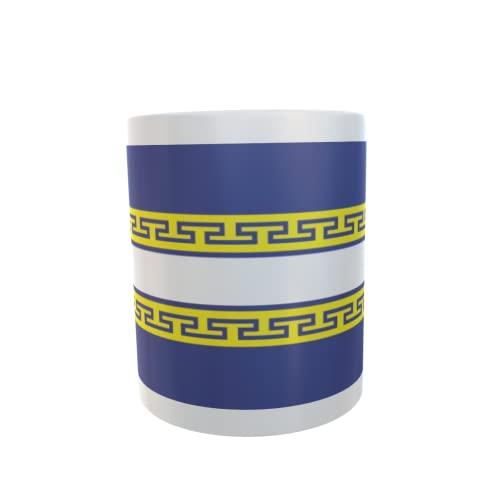 U24 Tasse Kaffeebecher Mug Cup Flagge Marne Department