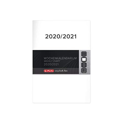 herlitz 50027125 Ersatzkalendarium 2020/21 für Schülerkalender Flex, A5, 1 Stück
