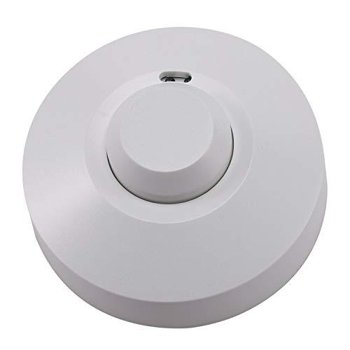 Gfhrisyty 220V 800W Microondas Sensor Pir Ocupación Cuerpo Detector de Movimiento Interruptor de Luz