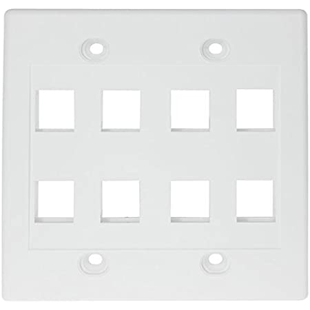 White waterproof plate legrand diplomat