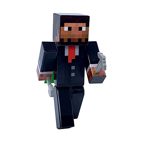 Corporate Executive Action Figure Toy, 4 Inch Custom Series Figurines