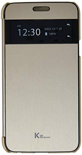 Capa Protetora Quick Cover Clean-Up para K10 Power, Voia, Capa Protetora para Celular, Dourada